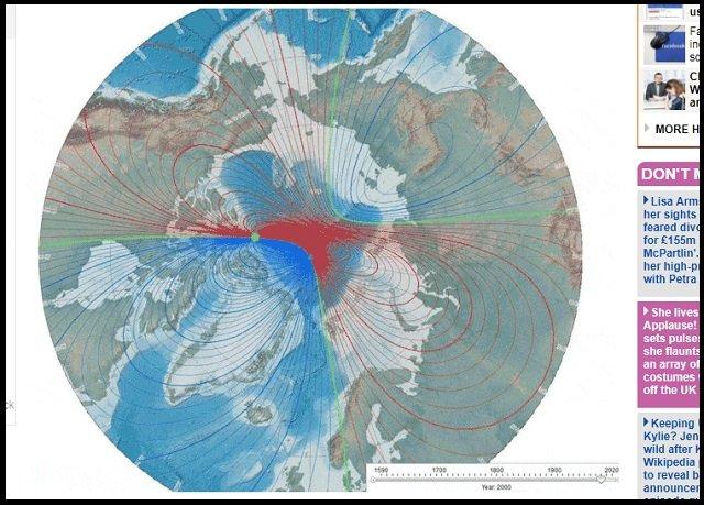 【悲報】「ポールシフトが78万年ぶりに発生間近」科学者がガチ警告! 数十万人死亡、地球が居住不可能に…の画像1