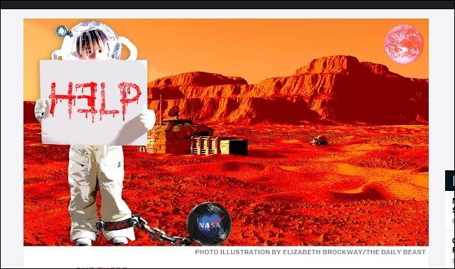 【ガチ】「火星に子どもたちが拉致され、ペドの性奴隷にされている」 元CIAがラジオで暴露! NASA公式コメント発表で、大騒動に発展中!の画像1