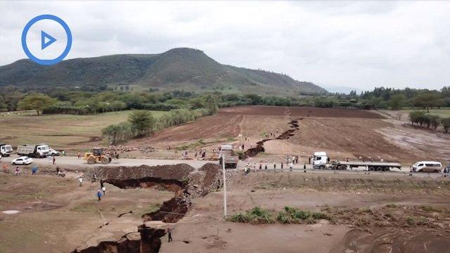 アフリカ大陸が2つに割れはじめていることが判明!巨大な地割れで地震も誘発…完全分裂はいつ? の画像1