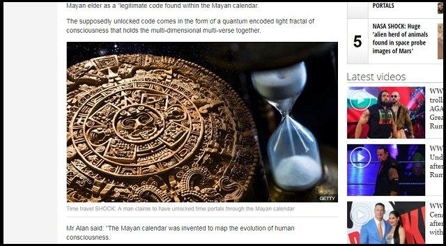 【朗報】マヤ暦に異次元ポータルを開く「コズミック・コード」が隠されていた事が判明! タイムトラベルし放題!の画像1
