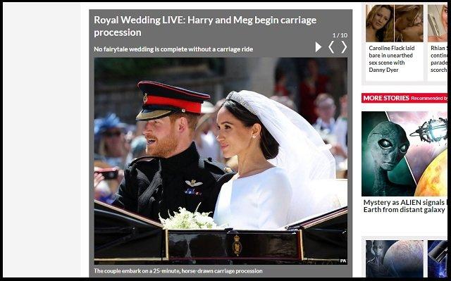 ヘンリー王子とメーガンの挙式に「転生ダイアナ妃」が参列していた! 新婦に祝福のキスも… 奇跡に英紙興奮の画像1