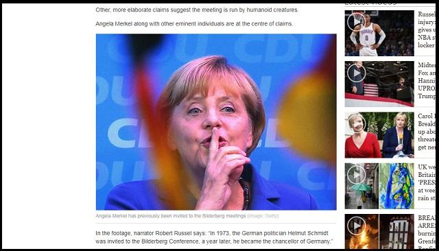 メルケル独首相と「イルミナティNWO」の関係全貌がTVで暴露される! ビルダーバーグ会議、秘密結社ハンドサイン、陰謀…!の画像1