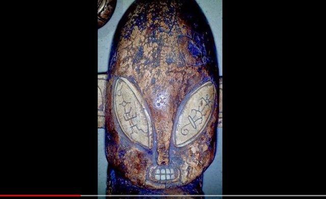 7000年前の「宇宙人の彫像」が発見される! 100%完璧グレイ、 日本の土偶とも類似…創造主か?=メキシコの画像1