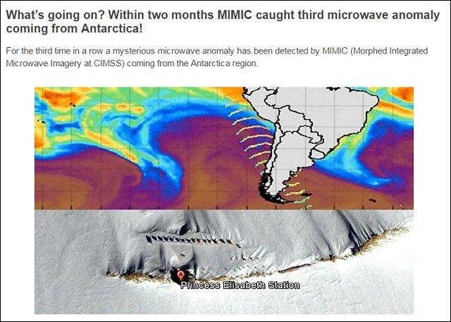 南極からまた「謎のマイクロ波」が放射されたことが衛星画像で発覚! 人工地震を引き起こす恐れ、発信源は南極ピラミッド?の画像2