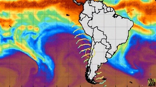 南極からまた「謎のマイクロ波」が放射されたことが衛星画像で発覚! 人工地震を引き起こす恐れ、発信源は南極ピラミッド?の画像1