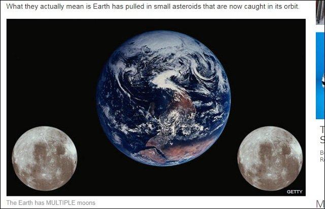 「地球には月が2つ以上ある」ことが最新研究で判明? 第二の月「ミニ・ムーン」発見への画像1