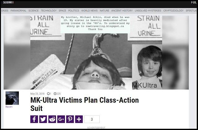 【ガチ】CIA洗脳実験「MKウルトラ」被害者40人がカナダ政府を集団訴訟へ! 通電、LSD大量投与…激ヤバ人体実験の全貌!の画像1