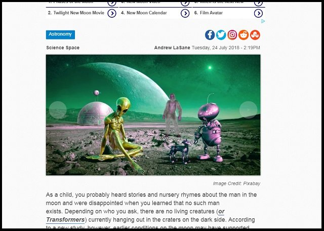 【衝撃】「月に生命がいた可能性」遂に学術論文で指摘される! やはり月には文明があった、伝説が現実に!の画像2