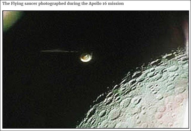 未だ解明されない「奇妙な月面写真5枚」! UFO・宇宙人・月面基地の決定的証拠、巨大ピザも!の画像4
