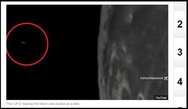 【衝撃映像】月の穴から意味深なUFOが飛び出す瞬間がヤバい!「人類から月を守る」宇宙人基地が存在か!?の画像2
