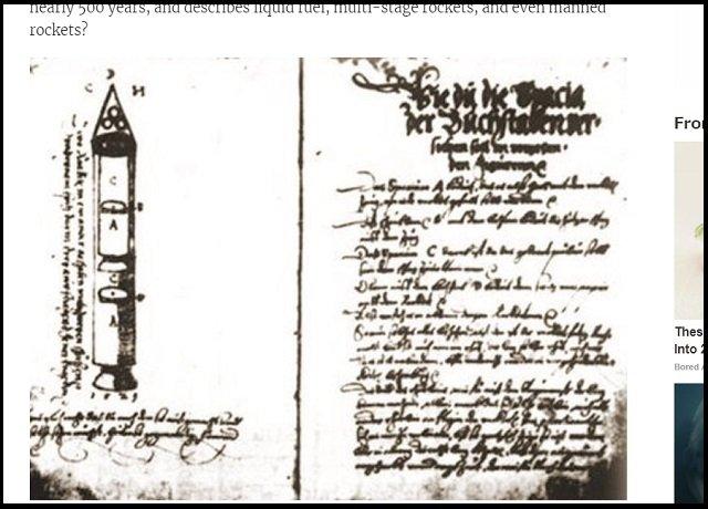 【北朝鮮ミサイル】ICBMの原型は500年前に開発されていた! 謎の「シビウ文書」と開発者からの衝撃メッセージとは?=ルーマニアの画像2