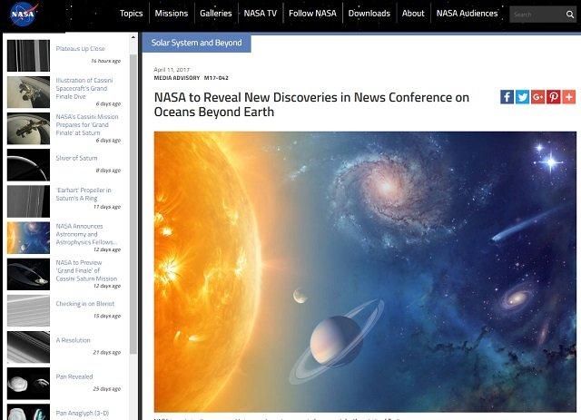 14日深夜NASAが重大発表・緊急記者会見へ! 「エウロパの海」で地球外生命体を発見か? 未知との遭遇に大幅前進確実!の画像1