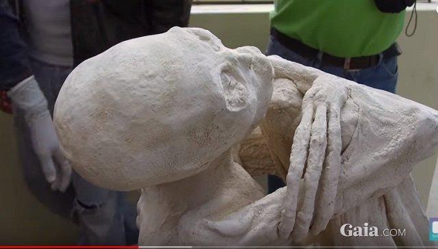 【衝撃】ナスカで発掘された「3本指の宇宙人ミイラ」は本物だった! 学者が疑惑を完全払拭フェイクではないことを証明!の画像4
