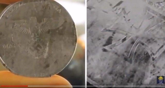 【衝撃】「2039年製造のナチス硬貨」が発見される! ヒトラーが8分違いのパラレルワールドで世界統一している証拠か!?の画像2