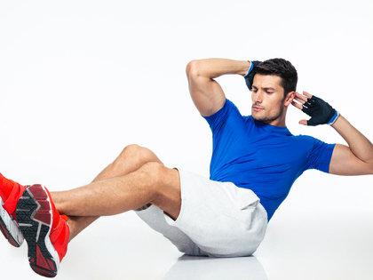 腰を痛める腹筋運動は時代遅れに~ 腰を守り<シックスパック>を目指すエクササイズ の画像1
