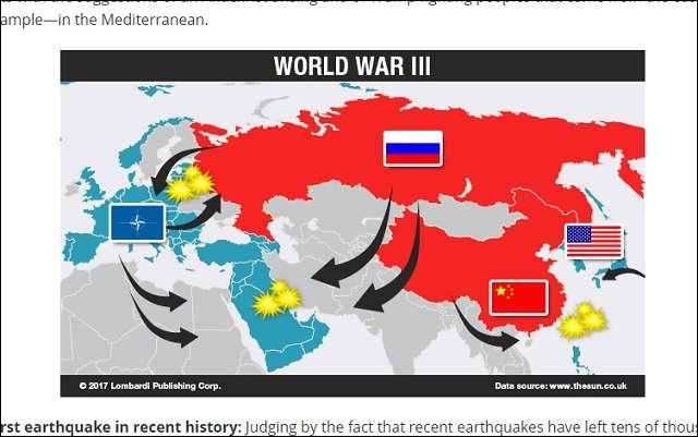 【ショック】2018年版ノストラダムスの大予言が絶望的!「史上最悪の地震発生」「豚人間」「 第三次世界大戦」など悲報10連発!の画像3