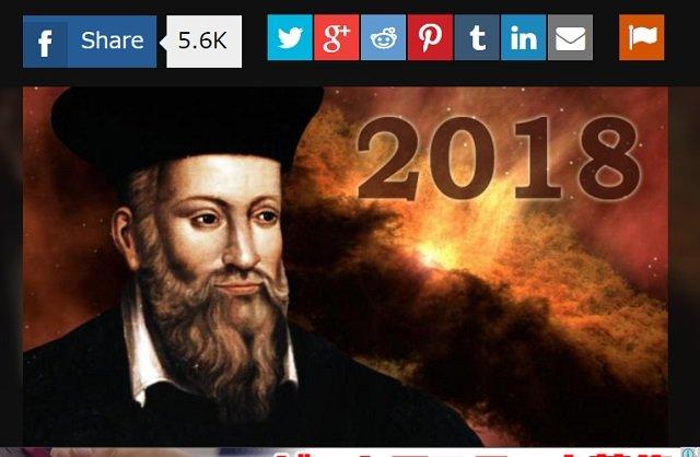 2018年版ノストラダムスの大予言が絶望的!「史上最悪の地震発生」「豚人間」「 第三次世界大戦」など悲報10連発!の画像1