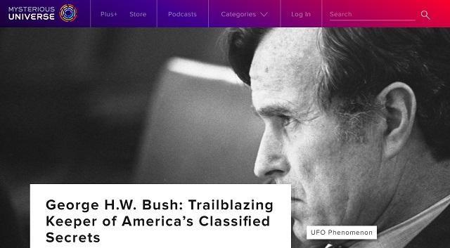 父ブッシュは「史上最もUFOに精通する大統領」だった! CIA長官時代に全UFO機密にアクセス、激ヤバ情報も…の画像1