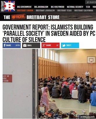 「ムスリム批判は絶対に許されない」移民が侵食するスウェーデンのパラレル・ソサエティ化が深刻すぎる(国防省レポート)の画像1