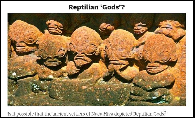 【証拠アリ】ポリネシアで宇宙人が崇拝されていた! グレイやレプティリアンに激似の石像多数、エイリアン神殿も!?の画像3