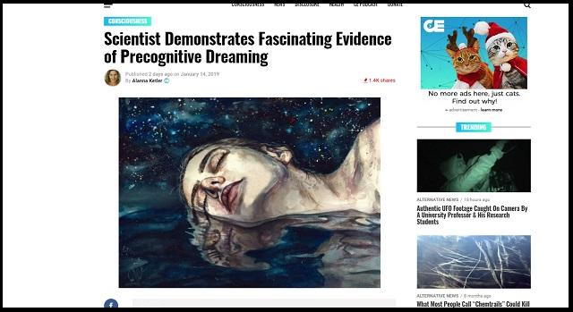 予知夢の存在を証明した歴史的科学実験がスゴすぎる! 「未来が現在に影響」大学教授も困惑、定説覆す量子的円環の時間とは!?の画像1