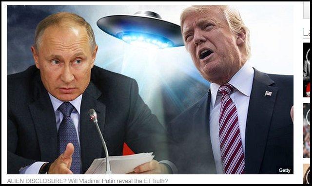 【衝撃】遂にプーチンがエイリアン情報開示か! 米ロビイストが説得、ロシア富豪も後押し、宇宙人が登場間近! の画像1