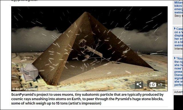 【ガチ】ギザの大ピラミッドの中に隠し部屋が存在、宇宙人の墓か!? 研究者「異常領域を検出」「世界初の成果」の画像3