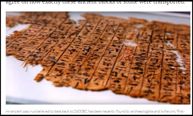 【ガチ】遂に「ピラミッドの石材運搬方法」が完全解明される! 4500年前に書かれた日記の衝撃内容が決定打に!の画像2