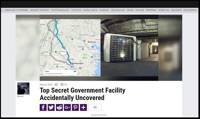 米政府が建造したエリート専用「極秘核シェルター」の存在をガチ暴露! 1400人だけ収容、一般人は見殺し…日本はもっと悲惨!?の画像1