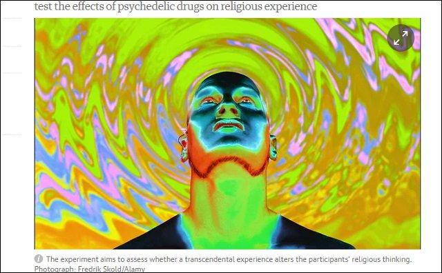 【ガチ】仏教僧や神父がドラッグを摂取したらトンでもないことが起きる? 米有名大学が禁断の実験への画像1