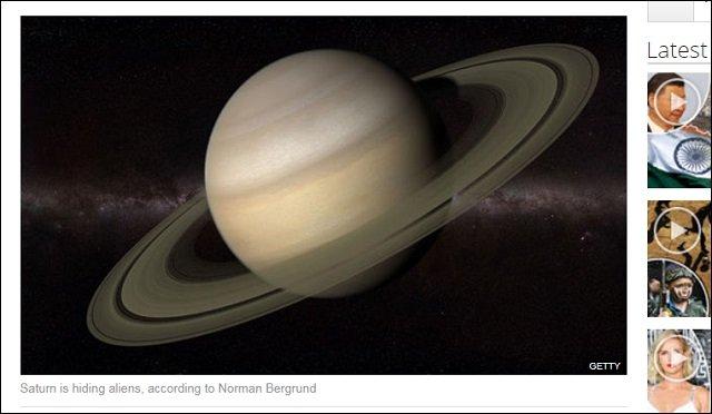 「土星の輪は宇宙人(リングメーカー)が製造した」元NASA研究者が暴露! 輪の中に隠れて増殖していることも判明!の画像1