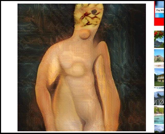 AIが描いた激ヤバ「女性のヌード絵」が初公開! 天才少年が作成「機械は人間をこう見ている」、これが未来のポルノだ!の画像2