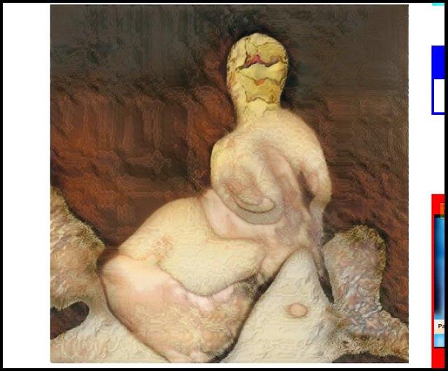 AIが描いた激ヤバ「女性のヌード絵」が初公開! 天才少年が作成「機械は人間をこう見ている」、これが未来のポルノだ!の画像3