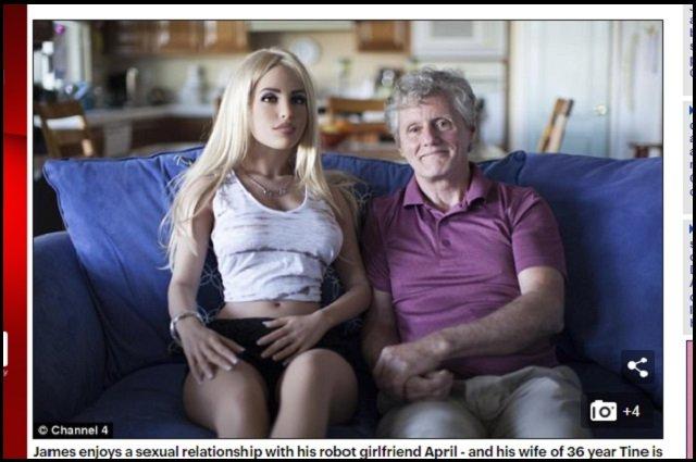 週4回ロボットとセックスしている中年既婚男性の日常「どんな体位でもイケて最高、肉感も人間そのもの」その時妻は…?の画像1