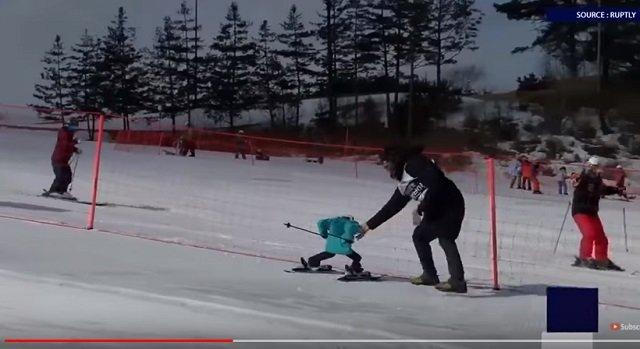 平昌で世界初のロボットスキー大会も開催中! 竹島の守護神「テコンV」も参加、ショボすぎて世界から嘲笑の嵐の画像5