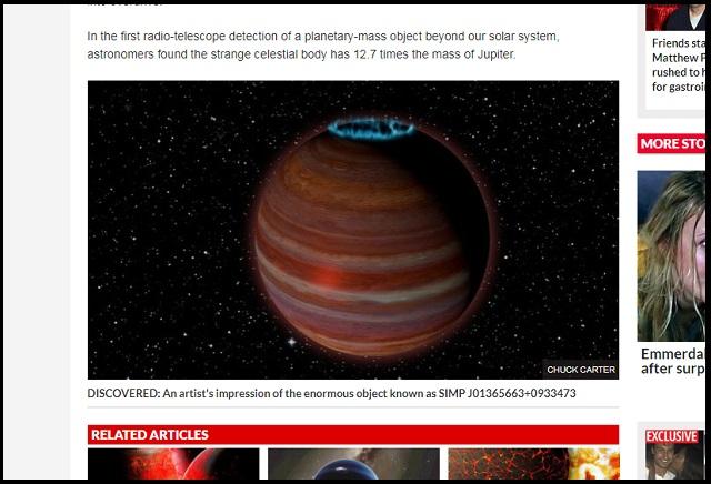 【ニビル】不審すぎる「自由浮遊惑星X」が新発見される! 災害の元凶の可能性…超強力磁力で木星の12.7倍!!の画像3