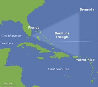 バミューダトライアングルの謎、最新説が登場! 巨大船舶を余裕で真っ二つにする悪党が科学的に存在していた!の画像1