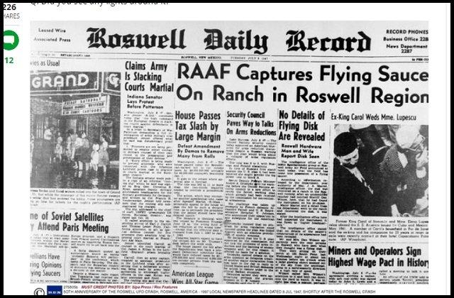 【超新説】「ロズウェル事件」の全く新しい真相とUFOの謎を著名研究家が暴露!「米国が宇宙人を発見したのは冷戦期、本当は…」の画像3