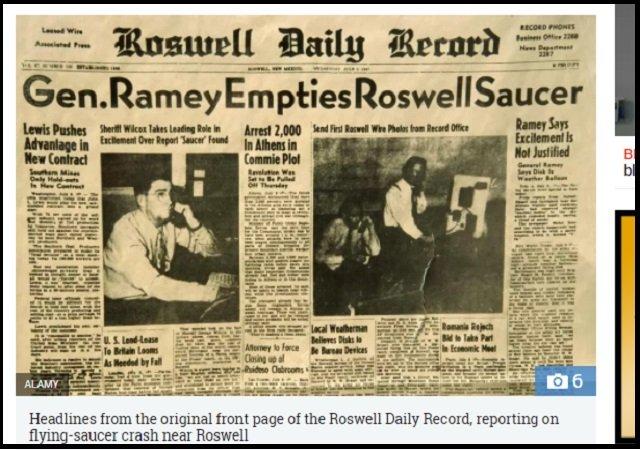 【新事実】「ロズウェル宇宙人」がエリア51に搬送された時の映像が流出、本物の可能性! 警察の新証言も「1.5メートルの生命体がいた」の画像4
