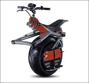 未来の一輪バイク、「Ryno」がカッコよすぎる!!腰のひねりで自在に運転、4月から一般発売!の画像1