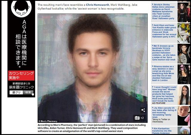 【衝撃】「世界で1番魅力的な男女の顔」が遂に判明! 整ってはいるが、アジア要素ゼロ…これぞ美の人種差別!の画像1
