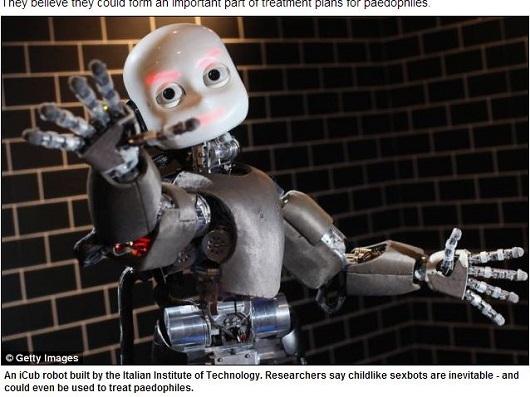 小児性愛者向けの子ども型セックスロボット!? ― 進化する性ロボット開発と人間の欲望研究の画像1