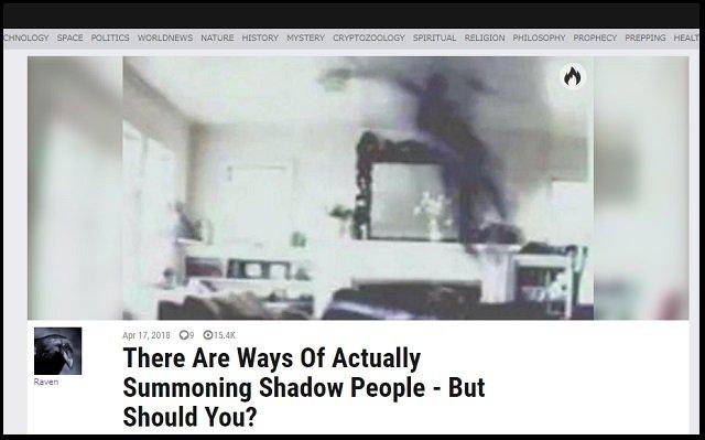 怪奇人物「シャドーピープル」を召喚する3つの方法を解説! 呪文、負の感情… 家庭が崩壊している人は呼びやすい!の画像1