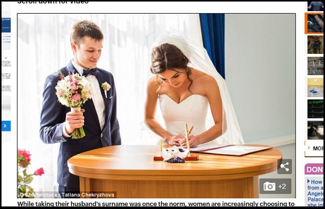 夫婦別姓問題に新たな衝撃、米研究で判明! これまで語られなかった、男側へのマイナス影響が無視できないレベル!の画像1
