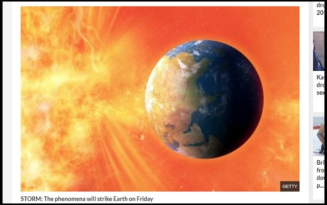 19日に太陽フレアで「磁気嵐(G1)」が地球に直撃することが判明! 携帯やネットが死亡…世界経済壊滅の恐れもの画像1