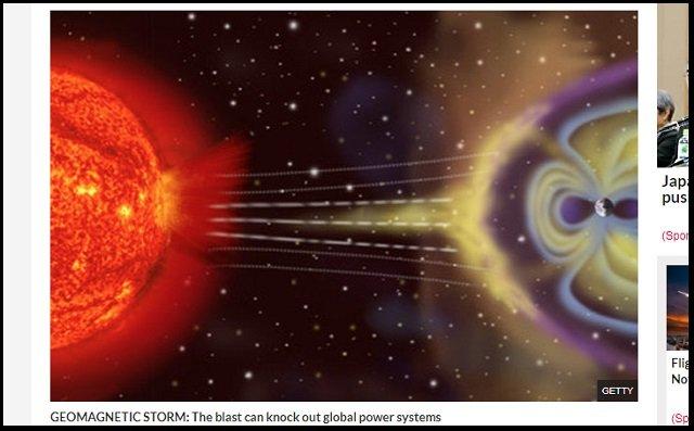 【警告】19日に太陽フレアで「磁気嵐(G1)」が地球に直撃することが判明! 携帯やネットが死亡…世界経済壊滅の恐れもの画像2