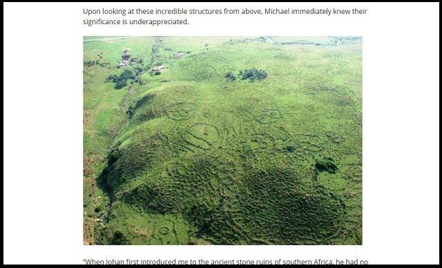 【衝撃】20万年前に宇宙人アヌンナキが築いた「地球最古の超古代文明」が南アフリカで発見される! 証拠多数、全地球文明の起源か!の画像2