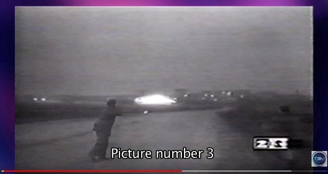 【衝撃】ロシアで「超巨大UFOの着陸映像」がTVでガチ放送されていた! エネルギー波で銃を無効化、謎の写真も!の画像3