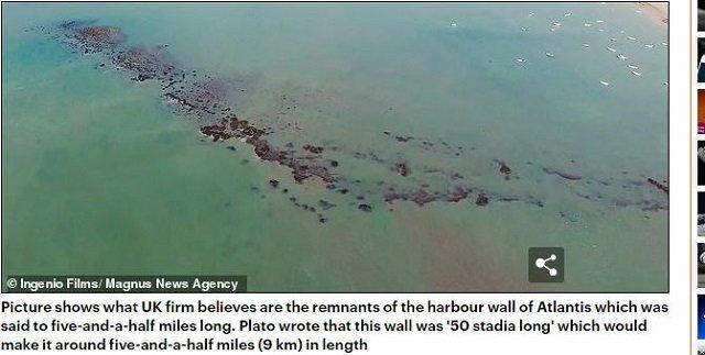 アトランティス大陸の場所をついにガチ特定か!? 衛星画像で複雑遺構を発見、古代文明を超越するハイテク超古代文明だった!の画像1