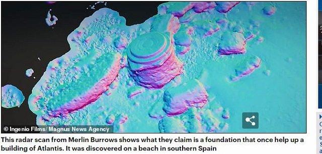 アトランティス大陸の場所をついにガチ特定か!? 衛星画像で複雑遺構を発見、古代文明を超越するハイテク超古代文明だった!の画像2